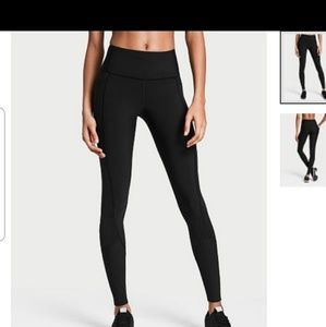 VICTORIA'S SPORT LEGGINGS BLACK SIZE MEDIUM